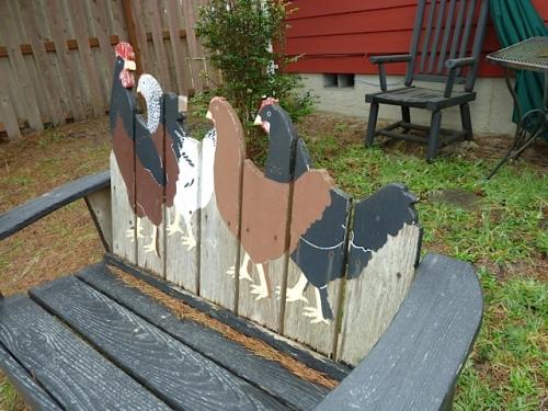 chicken bench