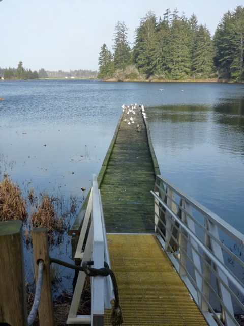 Black Lake dock