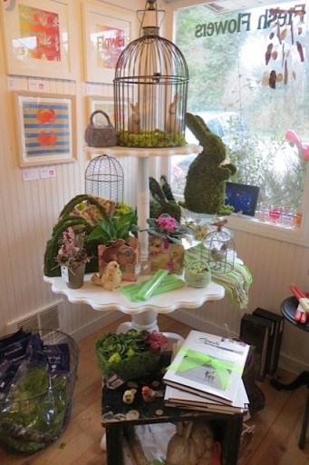 inside the adjoining Natural Nook gift shop