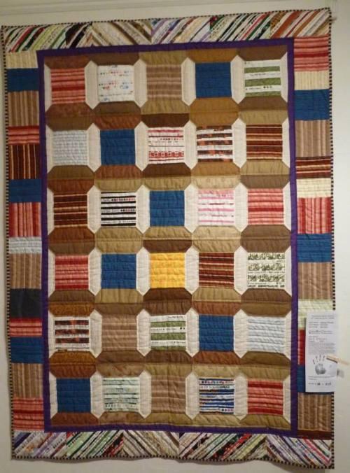 Salvage Threads by our garden client Ann of Ann's garden