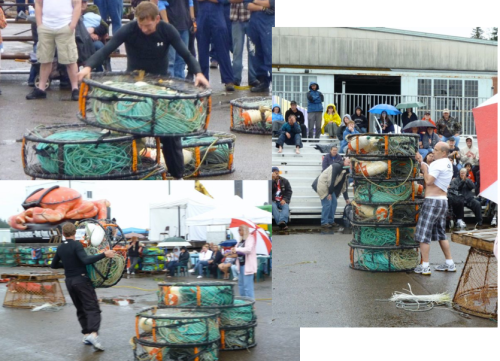Highliner competition at Astoria Commercial Fisherman's Festival