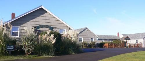 The pampas grasses as they were...from the Anchorage Cottages website