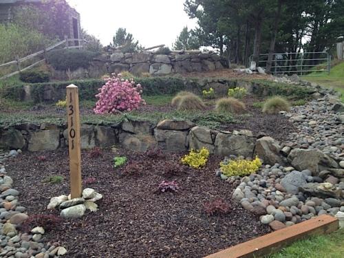 Kudos to this terraced garden.