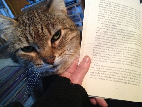 Mary was determined to help me enjoy the book.