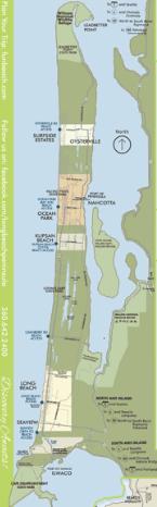 today:  Ilwaco to Klipsan Beach to Ocean Park to Nahcotta to Long Beach to Ilwaco