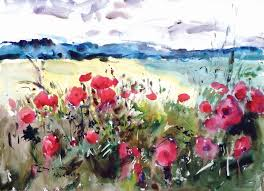 poppies by Eric Wiegardt