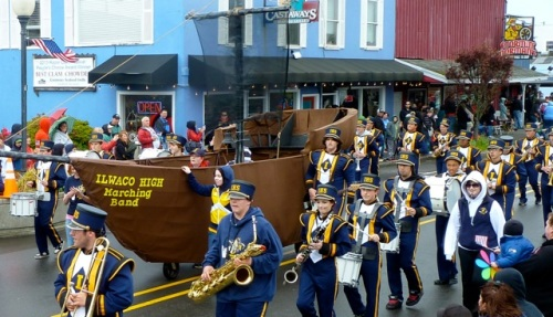 Ilwaco High School Float