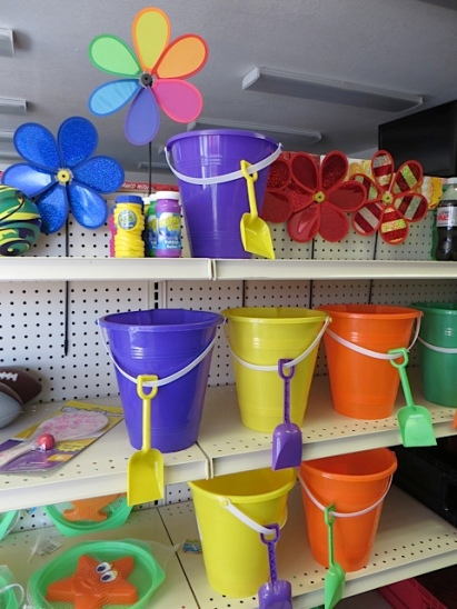 quintessential beach gear at Kompton's Mini Mart