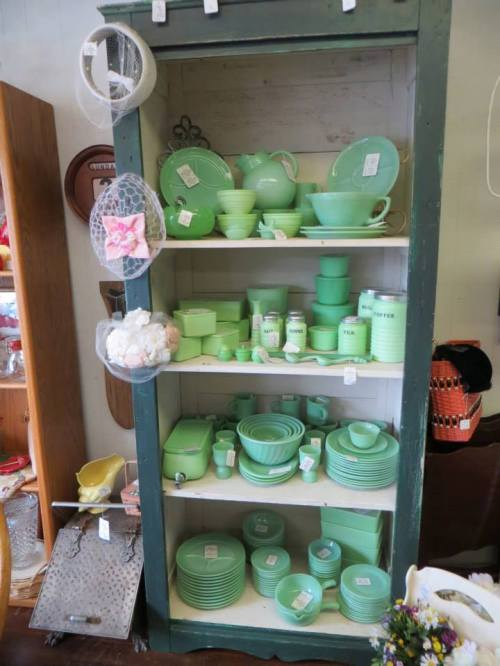 a Jadeite collection
