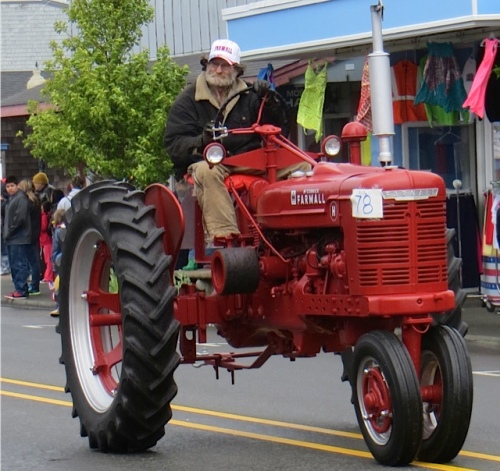 a serious tractor