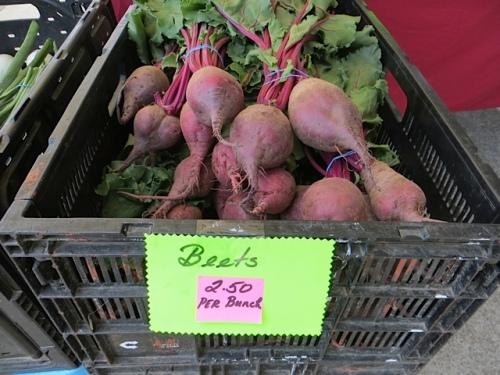 and beets
