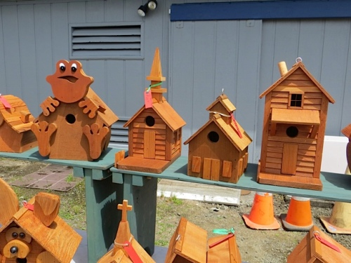 birdhouses from The Wood Elf