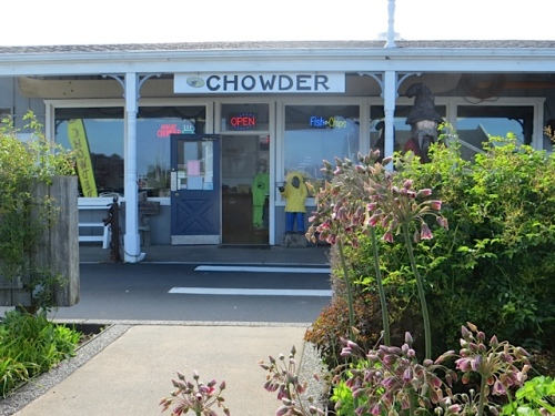 Captain Bob's Chowder, behind the park
