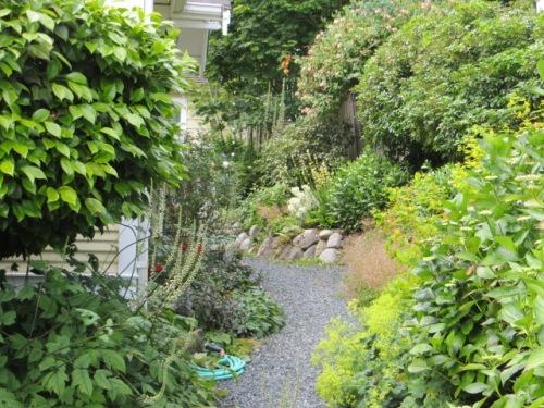 a Langley garden