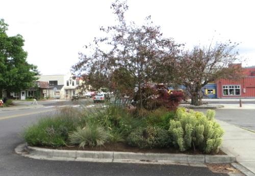 a public planting