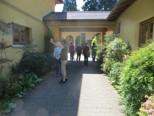 a passageway....