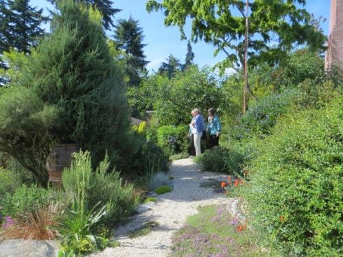 gravel path, front garden