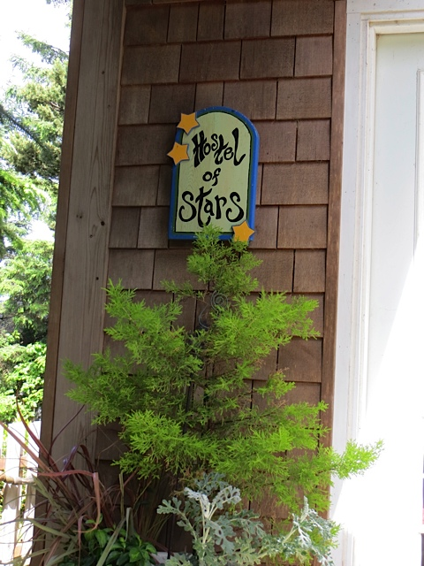 sign on the porch