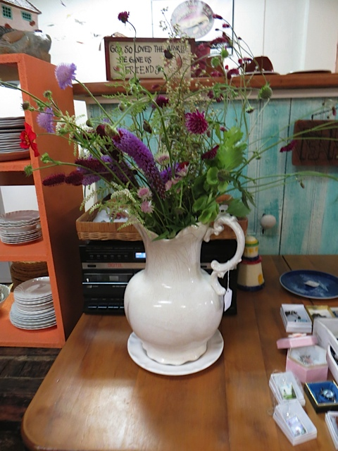Luanne's bouquet from our garden...
