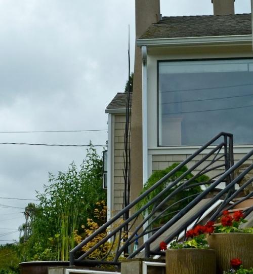 that matched a set of railings.