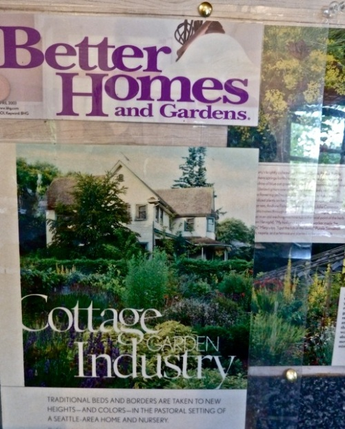 in the sales building: a Better Homes and Gardens article
