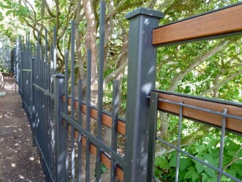 Allan's photo:  Not just a deer fence but art in itself