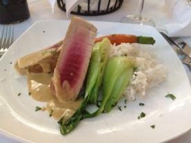 my yummy ahi tuna