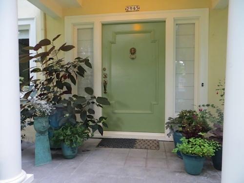 the Ernst front porch