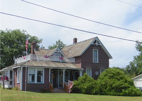 and a handsome house, former residence of the late Jack and Lucille who owned Jack's Country Store.