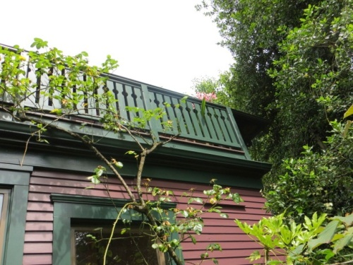 second story balcony