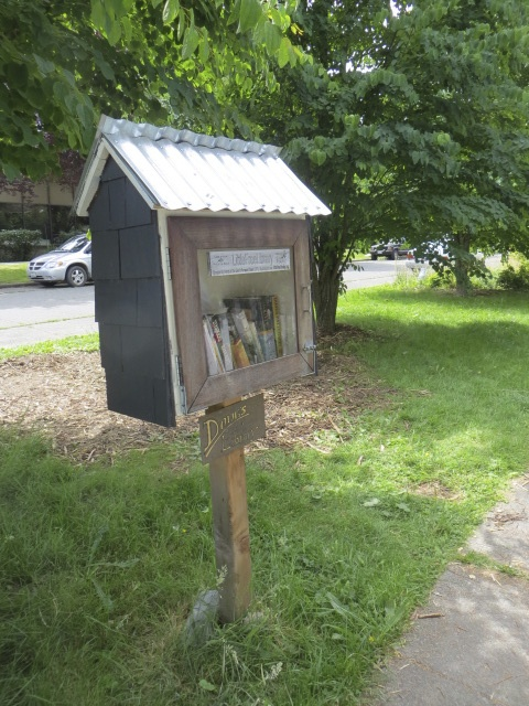and a little free library