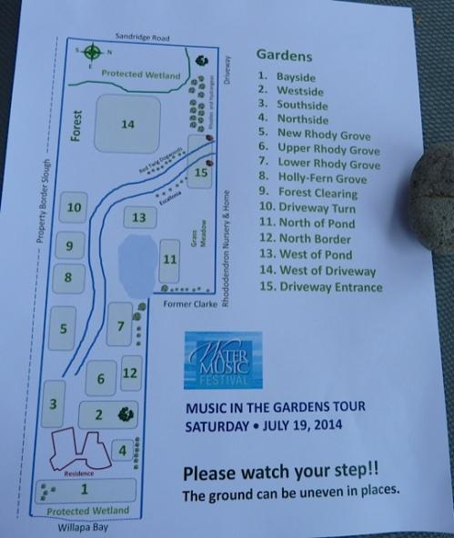 Steve and John's garden map