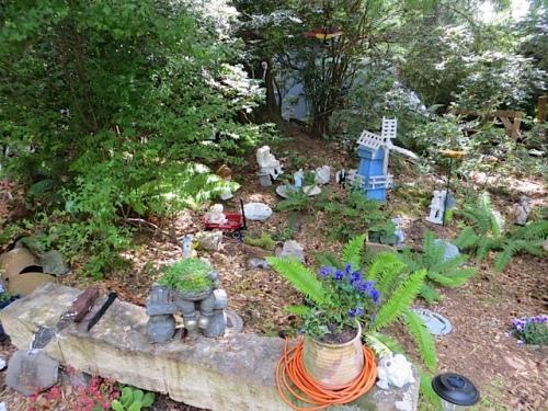 Shirley's memorial garden