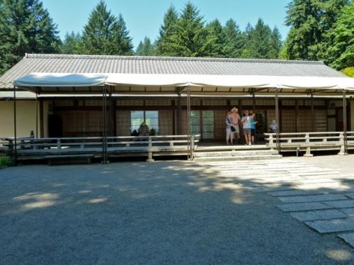 the sand garden pavilion