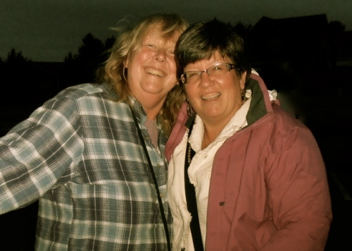 me and Patt, after a tasty dinner
