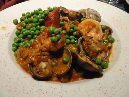 and the paella