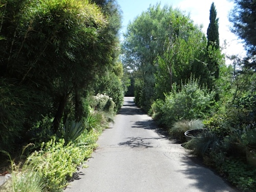 the main display garden path