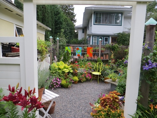Patio of Colours!