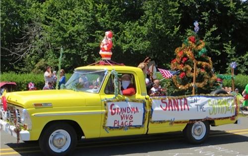 Local celebrity Grandma Viv's truck