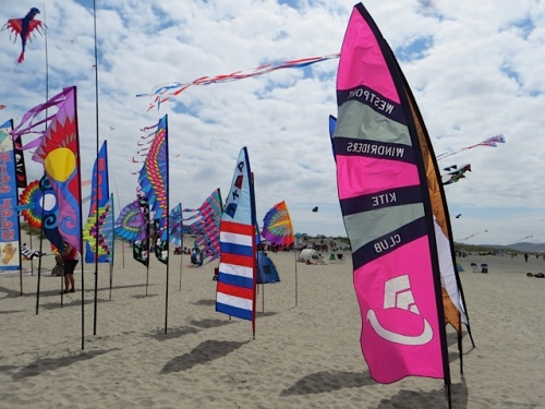 banners in the sand
