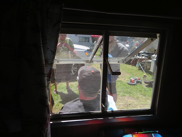 How well I remember, from trailer camping with my parents, the little crank windows.