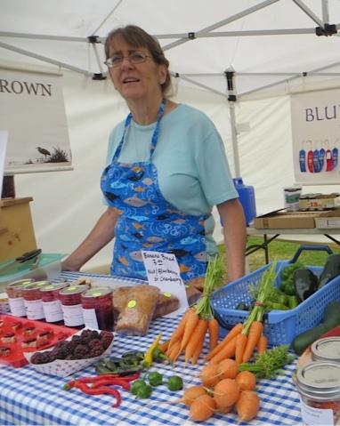 produce from Blue Coast Farm