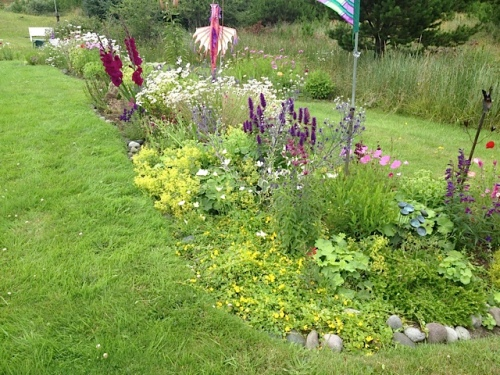 Boreas Inn: one of the lawn beds