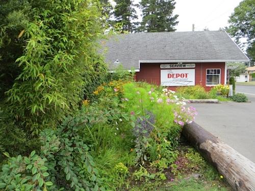 The Depot garden