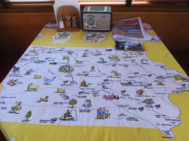 map tablecloth