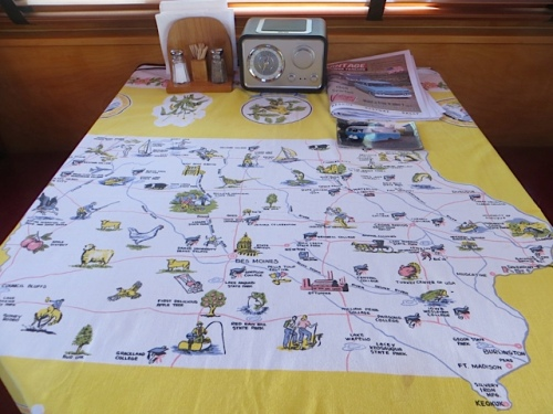 map tablecloth