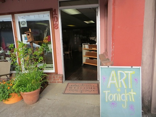 Olde Towne art night