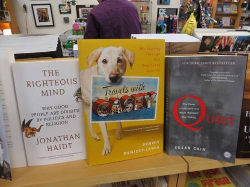 good reading for dogs (and that book called Quiet is a brilliant book about introverts)