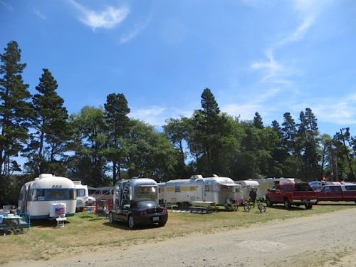 the vintage trailer rally