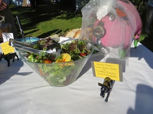 salads by Chef Jeff McMahon of Pelicano